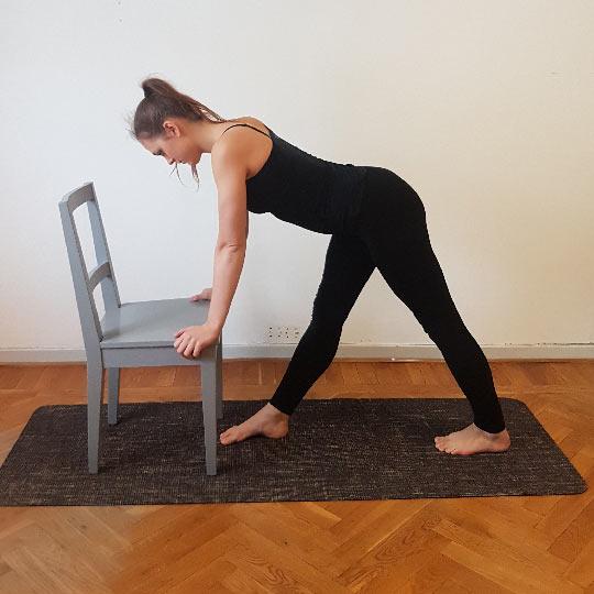Runners stretch - En övningning för bättre hållning